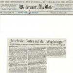 Butzbacher Zeitung vom 2.10.2013