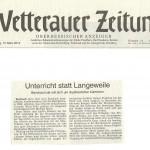 Wetterauer Zeitung vom 13.03.2014
