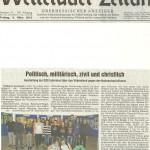 Wetterauer Zeitung vom 8.03.2013