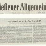 Gießener Allgemeine vom 28.03.2014