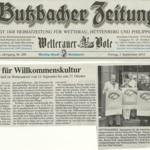 Butzbacher Zeitung vom 7. September 2012