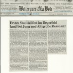 Butzbacher Zeitung 24. September 2012