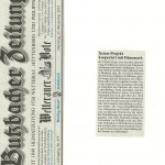 Butzbacher Zeitung vom 27. November 2012