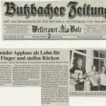 Butzbacher Zeitung vom 6. November 2012