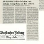 Butzbacher Zeitung vom 9. Janaur 2013
