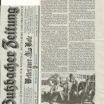 Butzbacher Zeitung 24. August 2012