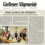 Gießener Allgemeine vom 26.07.2014