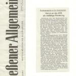 Gießener Allgemeine vom 05.04.2014