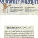 Gießener Anzeiger vom 26.09.2013