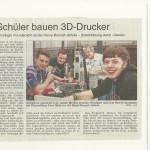 Wetterauer Zeitung vom 8.01.2014