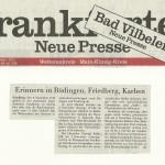 Frankfurter Neue Presse vom 1.11.13