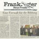 Frankfurter Neue Presse vom 29. Dezember 2012
