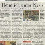 Frankfurter Neue Presse vom 9. November 2012