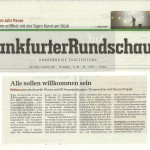 Frankfurter Rundschau vom 6. September 2012