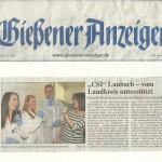Gießener Anzeiger vom 28.03.2013