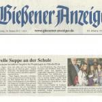 Gießener Anzeiger vom 18. Oktober 2012