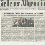 Gießener Allgemeine 29. August 2012