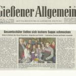 Gießener Allgemeine vom 20. Oktober 2012