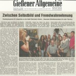 Gießener Allgemeine 13. Oktober 2012
