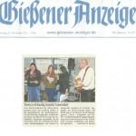 Gießener Anzeiger vom 27. November 2012
