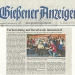 Gießener Anzeiger vom 22.11.2012