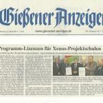 Gießener Anzeiger vom 9.Jjanaur 2013