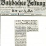 Butzbacher Zeitung vom 28.11.2014