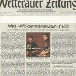 Wetterauer Zeitung vom 14.10.2014