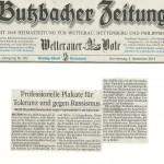 Butzbacher Zeitung vom 5.12.2013