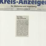 Kreis-Anzeiger vom 8. November 2012