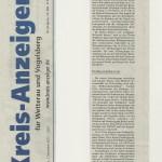 Kreis-Anzeiger vom 7. November 2012