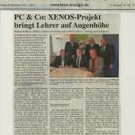 Kreisanzeiger vom 28. Dezember 2012