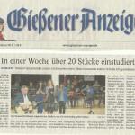 Gießener Anzeiger vom 26.02.2014