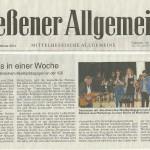 Gießener Allgemeine vom 27.02.2014