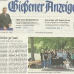 Gießener Anzeiger vom 18.06.2013