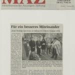 Mittelhessische Anzeigen Zeitung vom 7. November 2012