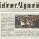 Gießener Allgemeine vom 28.11.2013