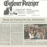 Gießener Anzeiger vom 28.11.2013