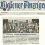 Gießener Anzeiger vom 3.03.2014