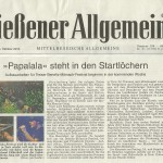 Gießener Allgemeine vom 15.10.2014