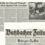 Butzbacher Zeitung vom 15. Mai 2013
