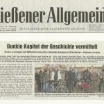 Gießener Allgemeine vom 10.04.2013