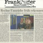 Frankfurter Neue Presse vom 9.11.2013