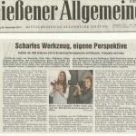 Gießener Allgemeine com 26.11.13