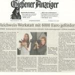 Gießener Anzeiger vom 29.11.2013