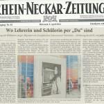 Rhein-Neckar-Zeitung vom 09.04.2014