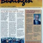 Stadtjournal Büdingen vom 10. Januar 2013