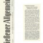Gießener Allgemeine vom 30.05.2014