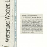 Wetterauer Wochen-Bote vom 7. November 2012