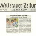 Wetterauer Zeitung - 14.03.2013